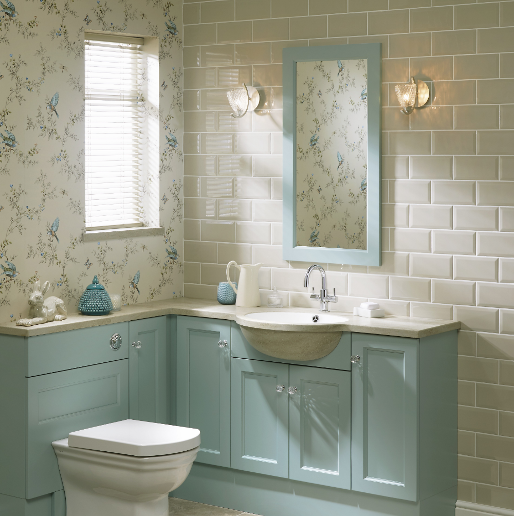 20x10 New Biselado Almond Tile Choice In 2020 Blue Bathroom Vanity Robins Egg Blue Bathroom Duck Egg Blue Bathroom