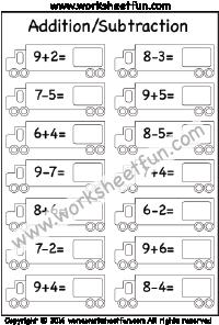 Kindergarten Subtraction Free Printable Worksheets Subtraction Kindergarten Visual Discrimination Worksheets Addition And Subtraction Worksheets