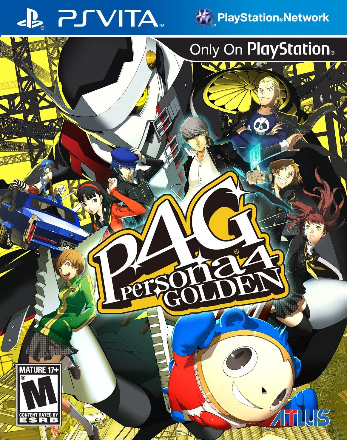 Persona 4 Golden | P4G | Games Enjoyed | Ps vita games, Ps4