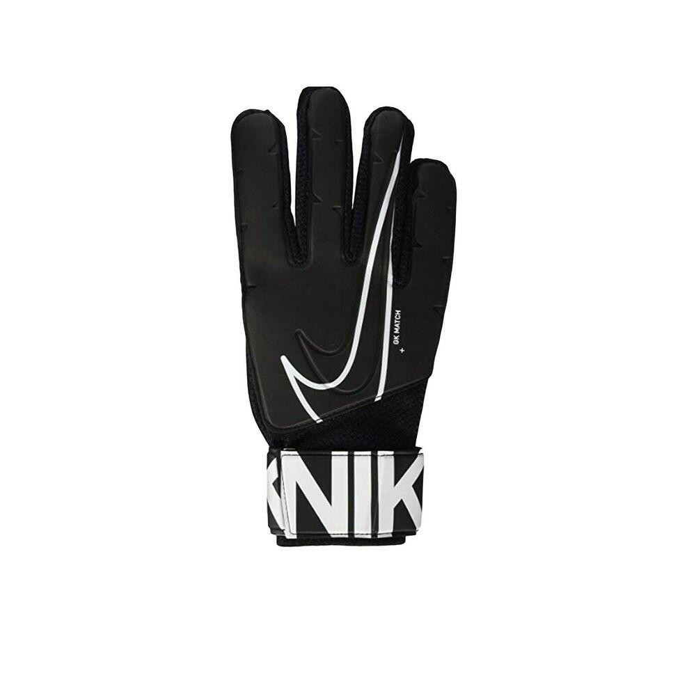 Nike Goalkeeper Match Gloves Ultimate Control Black White Nib Nike In 2020 Gloves Black And White Goalkeeper