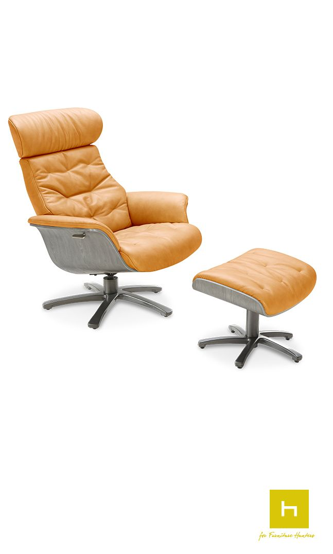 the karma jens recliner ottoman by kuka this recliner has been rh pinterest ch