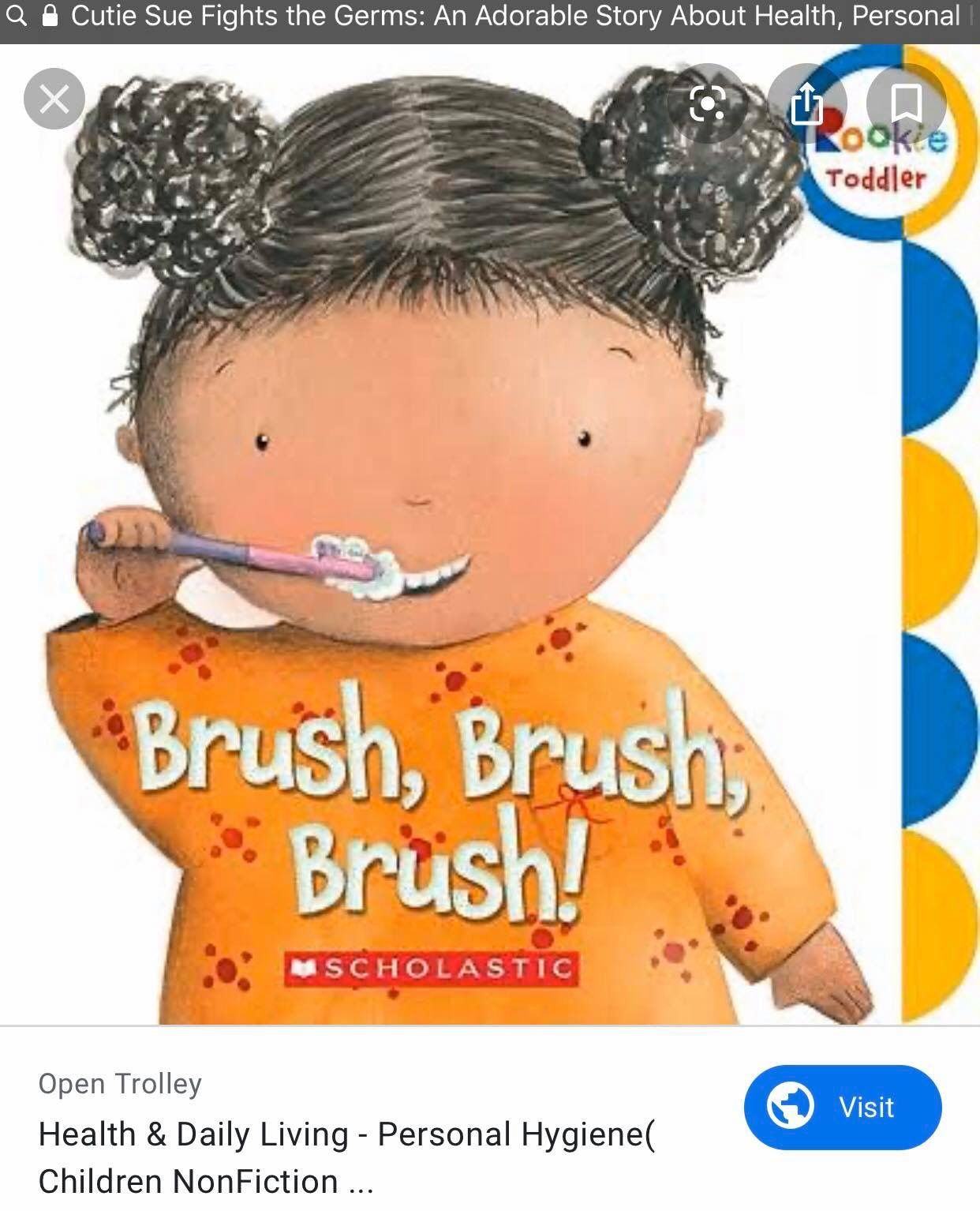 Personal Hygiene Stories For Kids In