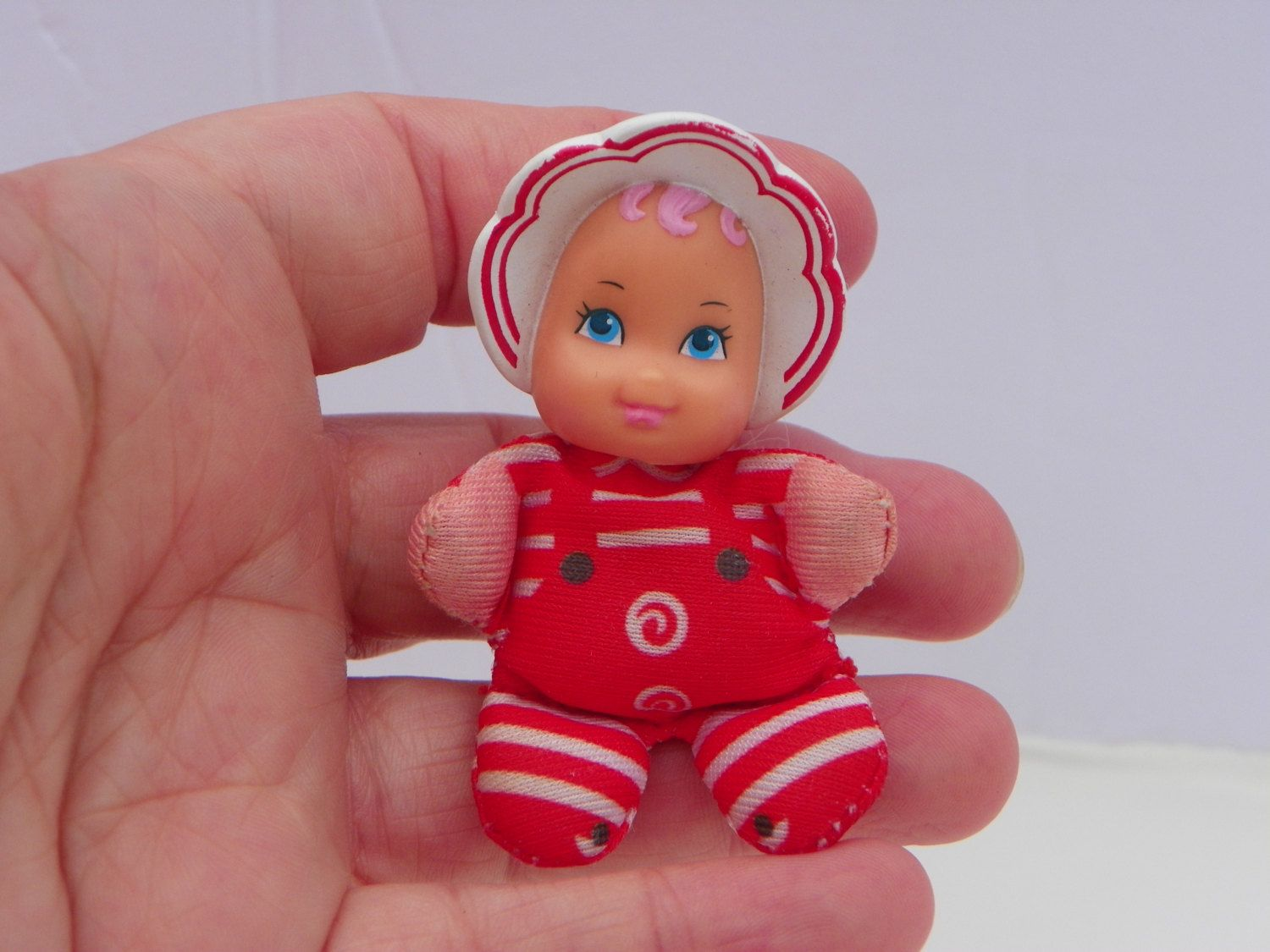 Vintage 1989 Galoob So Small Babies Patsy Peppermint