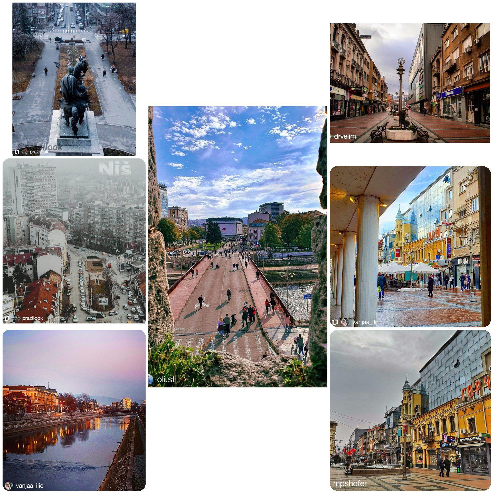 Fotografije su delo @prazilook @vanjaa_ilic @oli.st_ @drvelim @mpshofer . #gradnis #citybestpics #clickcat #picoftheday #streetphotography #artsofvisuals #photooftheday #street_photography #photography #wanderlust #passionpassport #ig_captures #worldshotz #fotografia #visitserbia #visitnis #instagood #travelers #nish_be #monuments #droneshots #map_of_europe #streets_of_our_world #citykillerz #streets #riverside #nisava