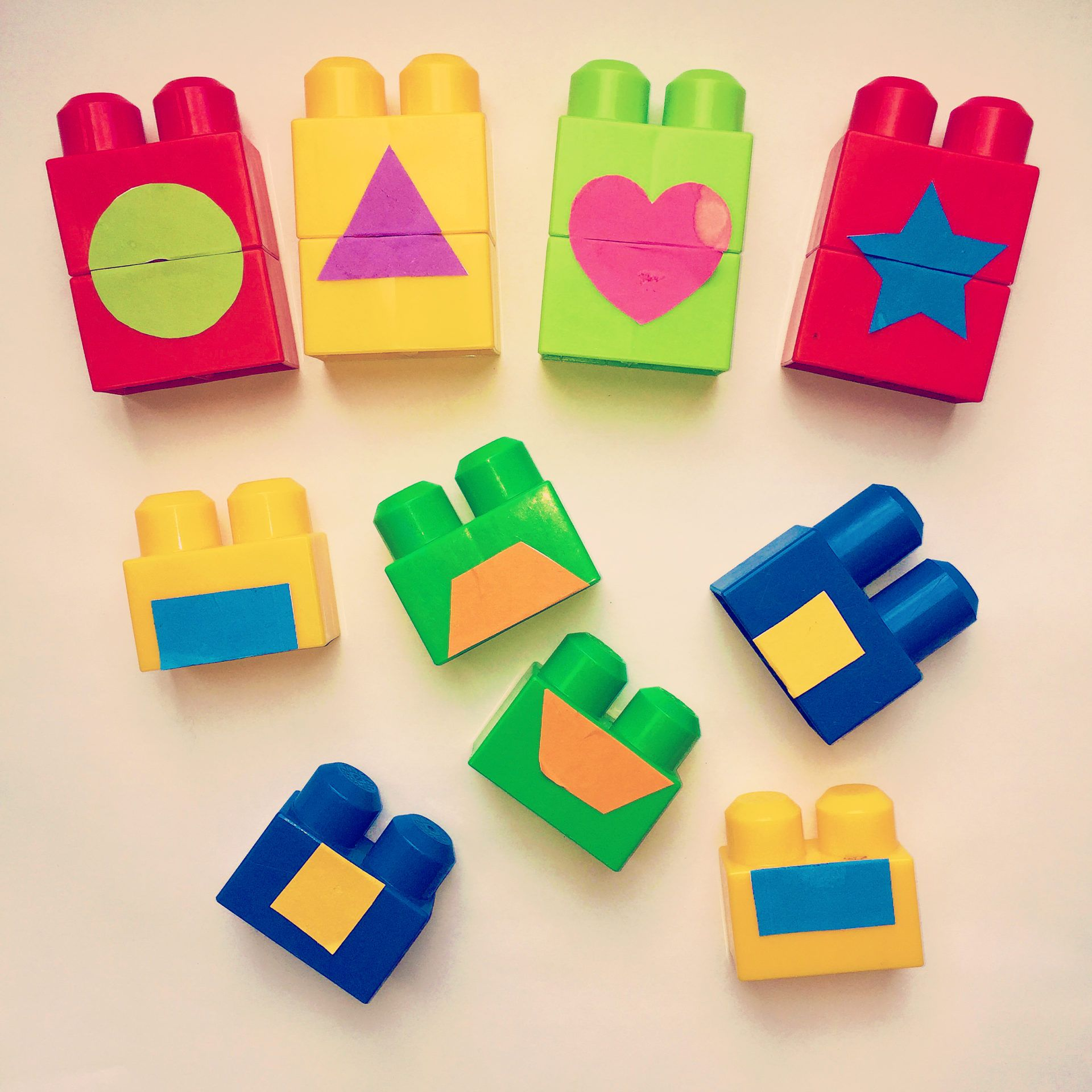 Shape Matching With Blocks