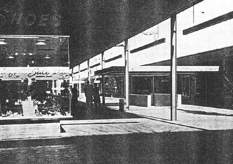 Roosevelt Field Mall Long Island 1960s   The original, single level