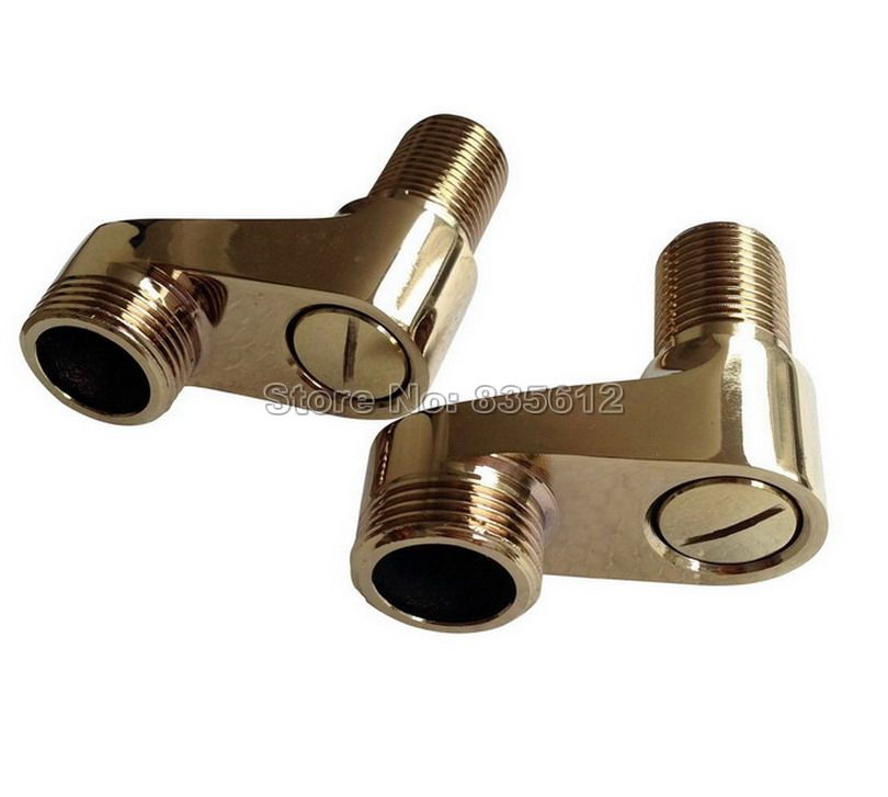 Gold Color Brass Claw Foot Wall Mounted Bath Tub Rain Shower Faucet ...