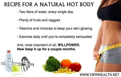 Recipe For A Natural Hot Body http://www.swimhealth.net/