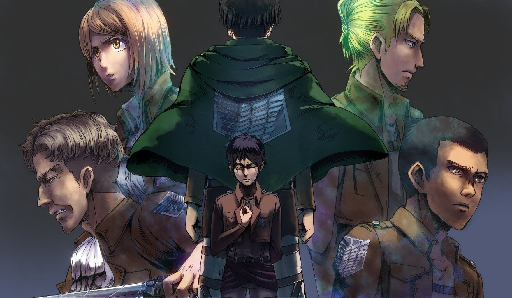 Anime Attack On Titan Attack on Titan Eren Yeager Gunther