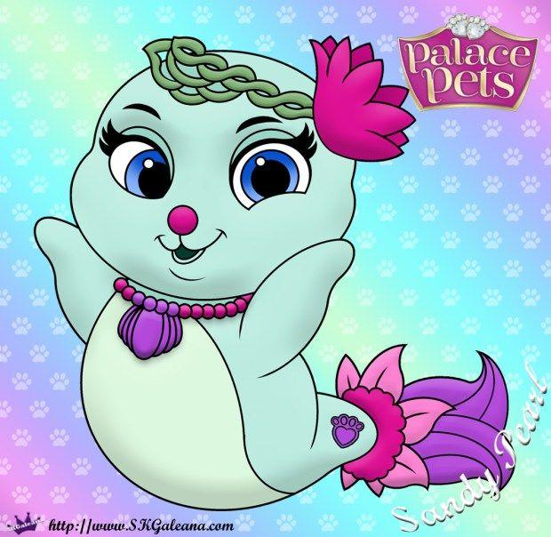 Free Princess Palace Pets Coloring Page Of Sandy Pearl Princess Palace Pets Disney Princess Palace Pets Palace Pets