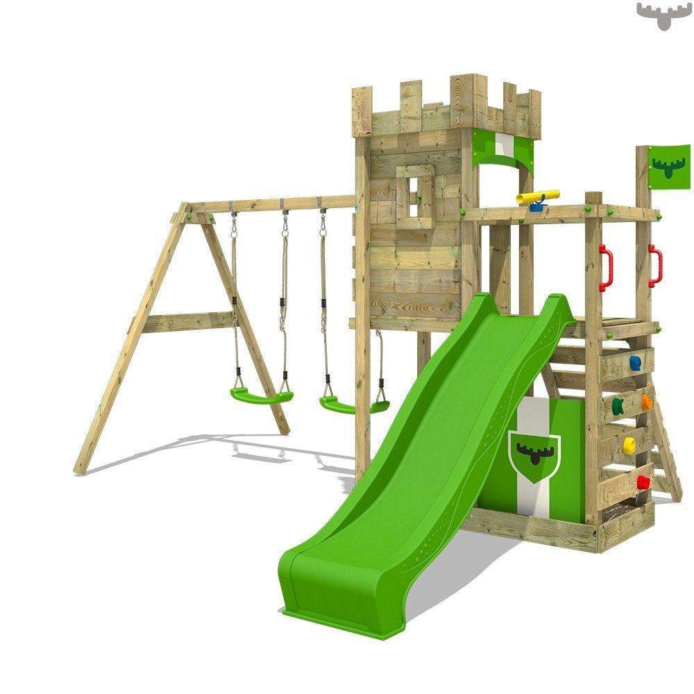 Begeistern Sie Ihre Kinder Mit Einem Tollen Spielturm Fur Den Garten Inkl Rutsche Schaukel Sandkast Kinder Klettergerust Spielturm Spielturm Mit Schaukel
