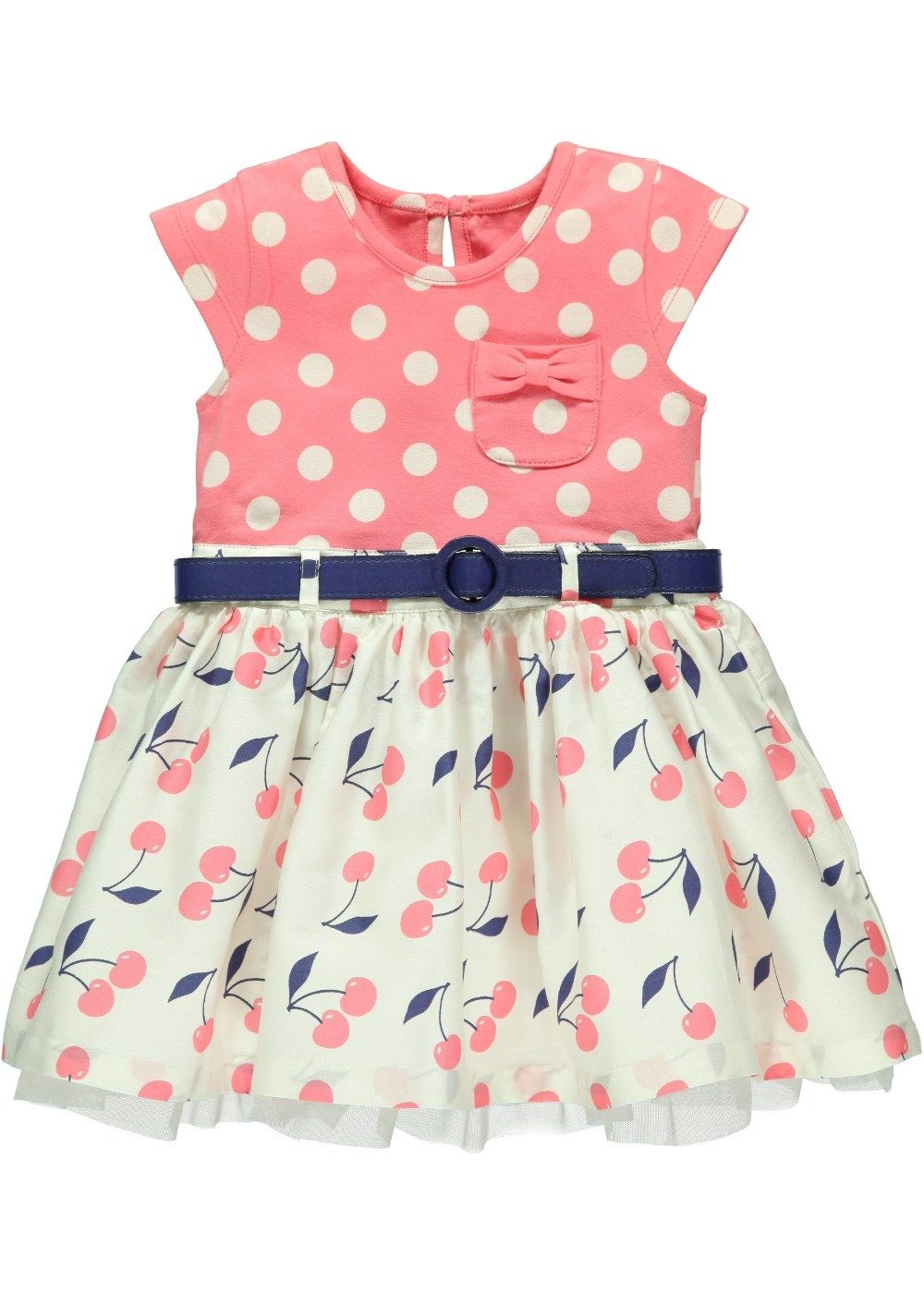 Girls Spot Print Dress - Matalan | kids fashion-girls | Pinterest ...