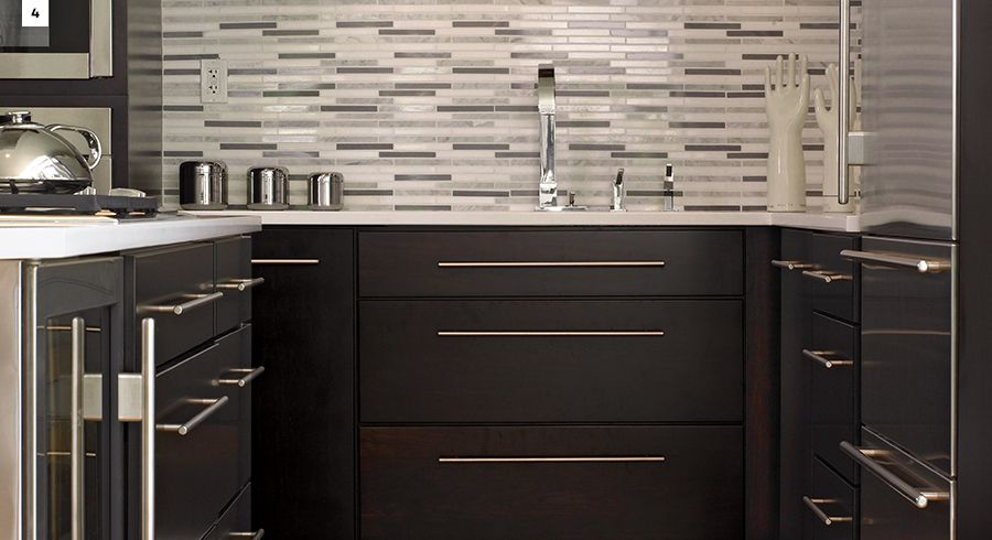 kitchen colors dark is the new neutral kraftmaid kitchen rh pinterest com