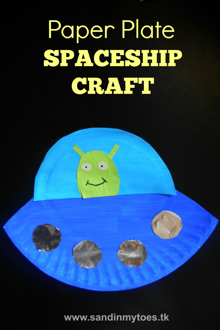 Busy hands paper plate spaceship spaceship craft and for Paper plate craft images