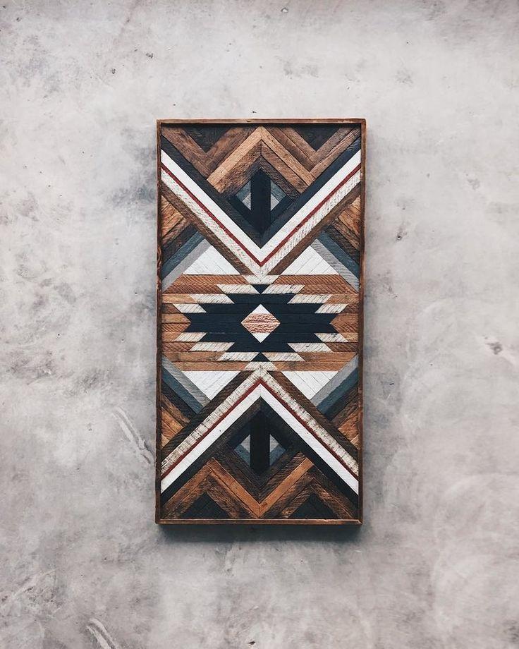 Lori Roberts - Wandkunst - 30 x60 Hergestellt aus recyceltem Holz von Nashvill ... #hergestellt #nashvill #recyceltem #roberts #wandkunst #reclaimedwoodwallart