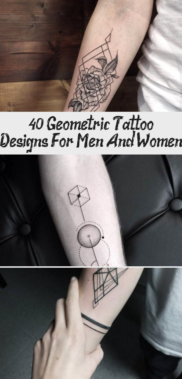 40 Geometric Tattoo Designs For Men And Women  Best Tattoos  Geometric Tattoo Design on Back by Bicem Sinik