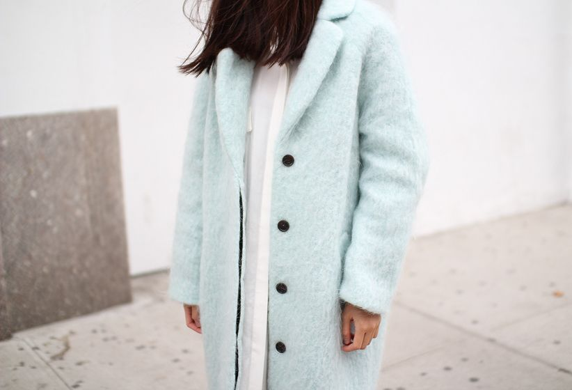 vanillascented | H jacket, Monki dress & Acne boots