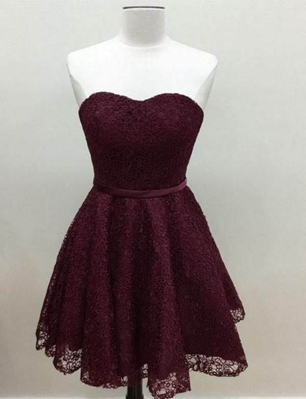 9ef6bbd4369 Simple Lace Homecoming Cocktail Dress shorthomecomingdress   homecoming2k18homecomingdress  simplehomecomingdress  partydress   cocktaildress   ...