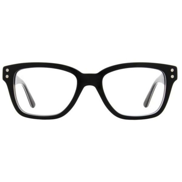 Converse by Jack Purcell P003 Unisex Eyeglasses (500 BRL) ❤ liked on Polyvore featuring accessories, eyewear, eyeglasses, black, black square glasses, round eyeglasses, square eyeglasses, retro eyeglasses and black glasses