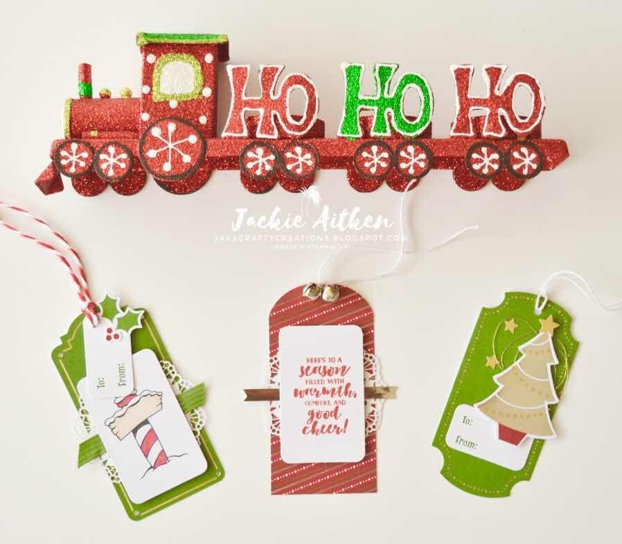 Stampin' Up!, Sincerely Santa Kit, Christmas Gift Tags