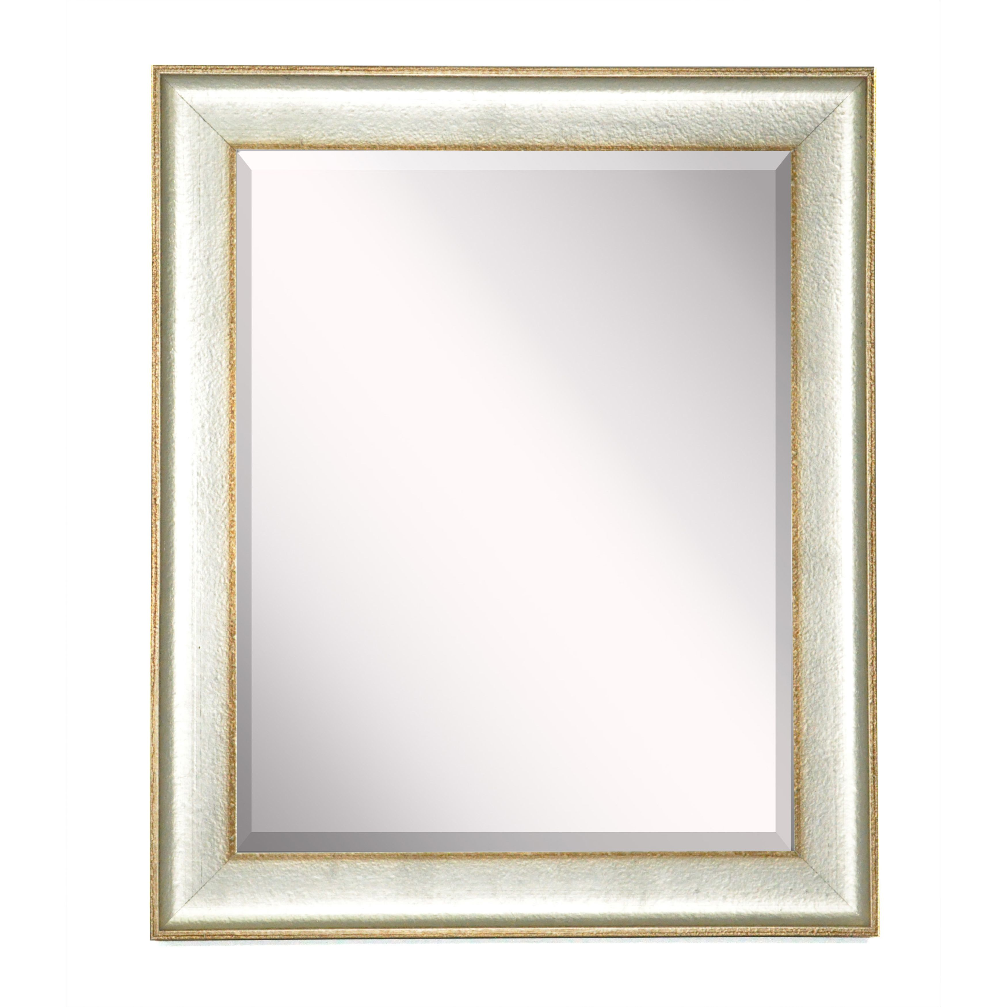 20 x 24 (ext), 16 x 20 (int) Vintage Silver Mirror - Overstock ...
