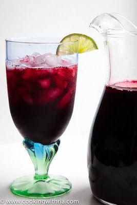 Trinidad Sorrel Recipe. Traditional Christmas drink
