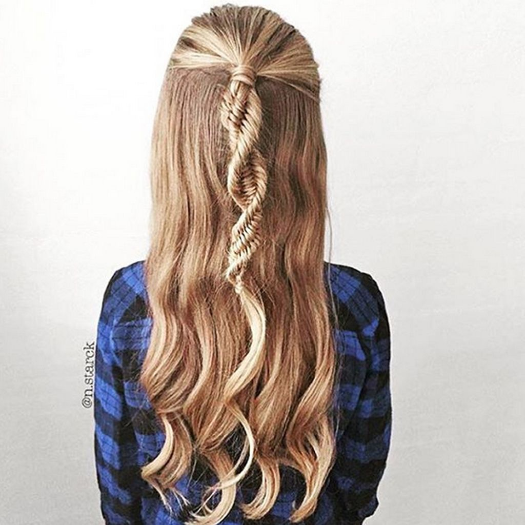 Tresse Adn Comment Faire Une Tresse Adn Ou Dna Braid Hair Style Hair Makeup And Makeup