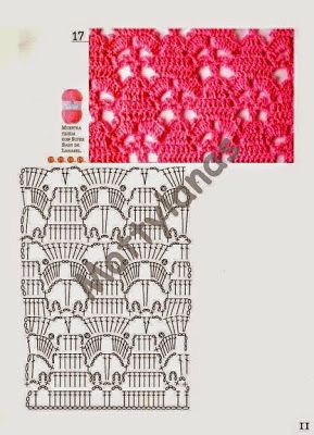 La Magia del Crochet: ROMBOS Y PIÑAS A CROCHET