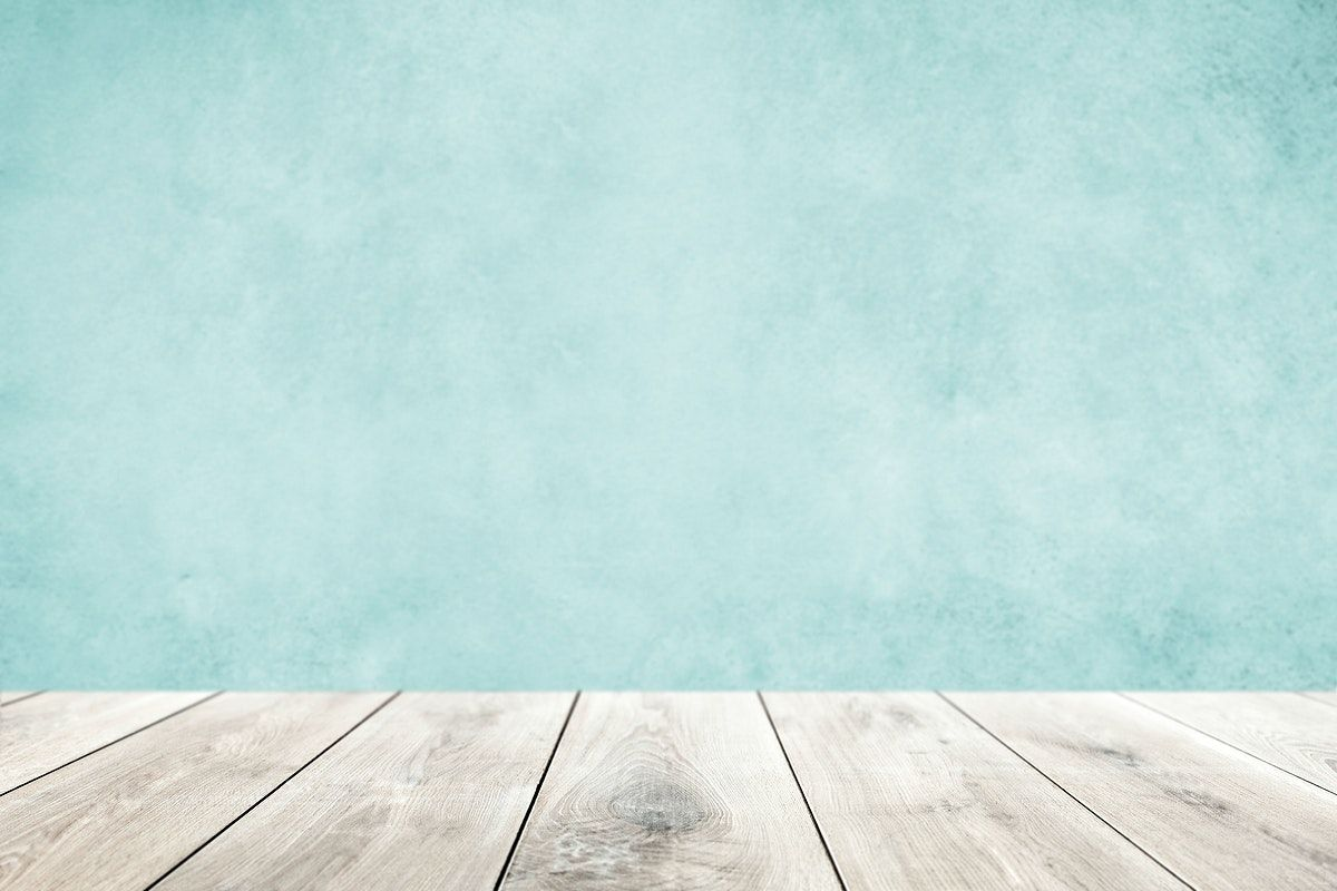 Pastel Blue Wall With Wooden Floor Product Background Free Image By Rawpixel Com In 2020 Grey Wooden Floor Blue Walls White Wooden Floor