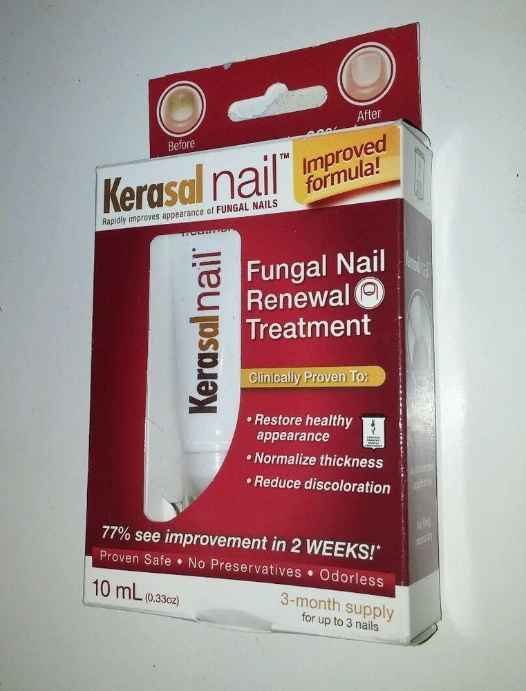 KERASAL NAIL FUNGAL NAIL RENEWAL TREATMENT - 0.33 Oz / 10 ML healthy ...