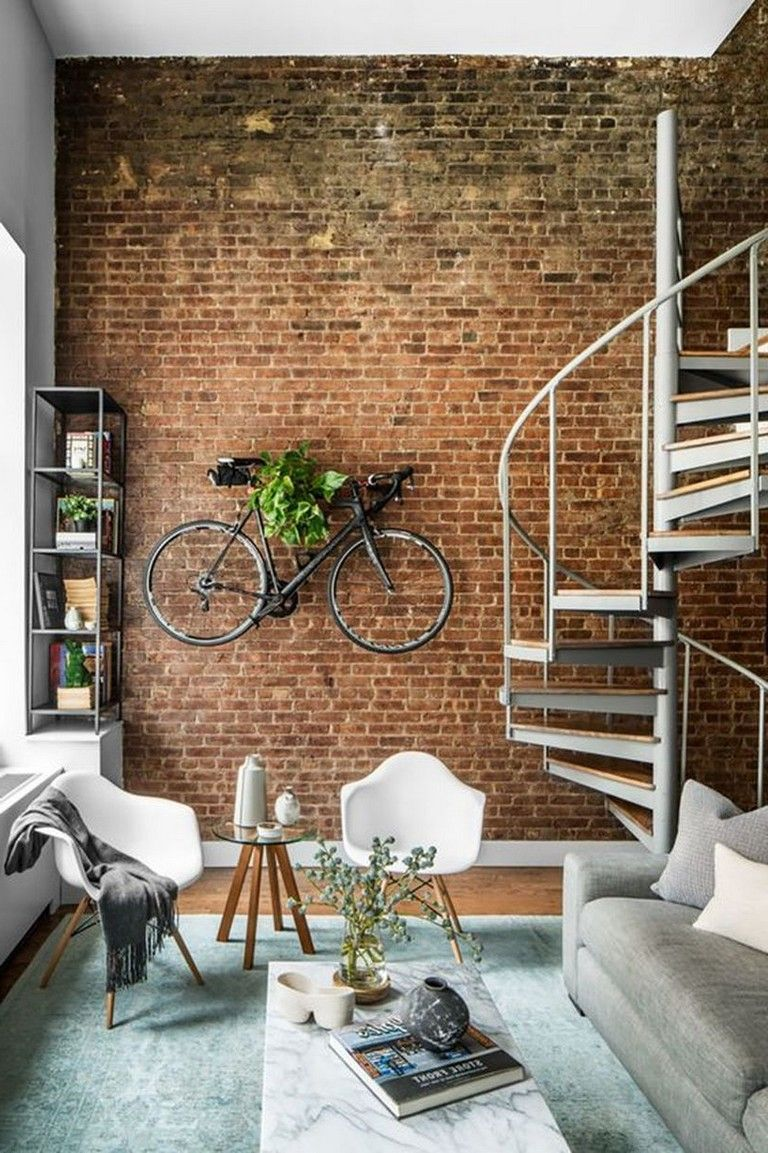 13+ Cool Rustic Exposed Brick Wall Ideas for Your Living ...