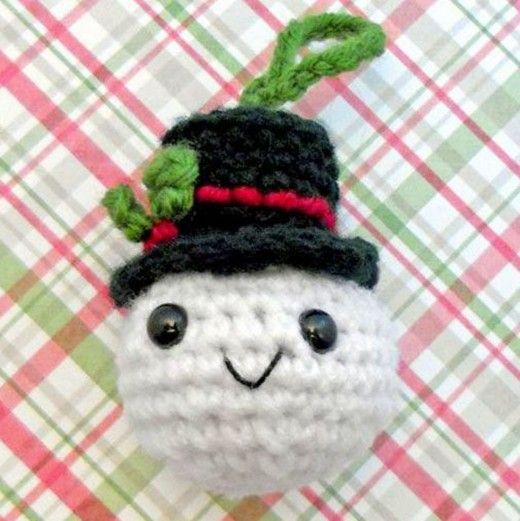 25 Free Amigurumi Snowman Crochet Patterns Free Crochet Snowman