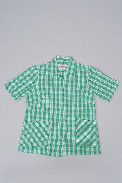 1765de957 1960s Palaka Aloha Shirt from Arakawa's. Photo by University of Hawaii  Museum, via Flickr