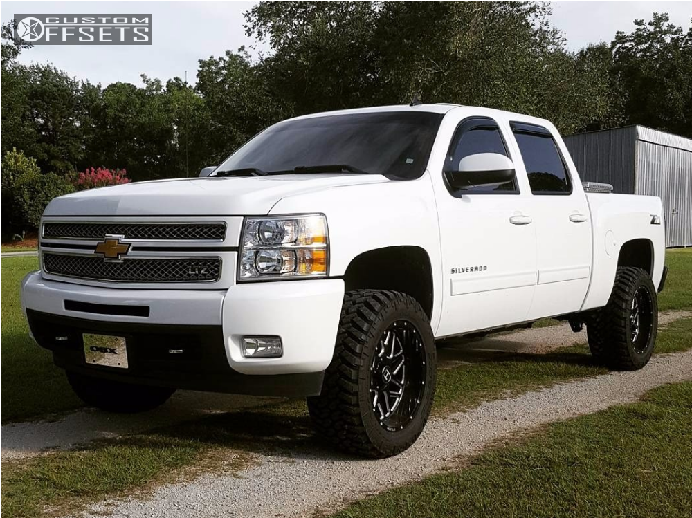 2013 Chevrolet Silverado 1500 Hostile Sprocket Rough Country Suspension Lift 35in Chevy Trucks Lifted Chevy Trucks Gmc Trucks
