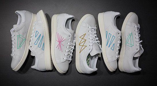"""cheap for discount eed7d b4539 Shigeki Fujishiro X Adidas Originals Consortium Stan Smith """"PLAY"""