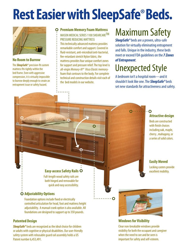 Sleepsafe Bed Overview How To Make Bed Safety Bed