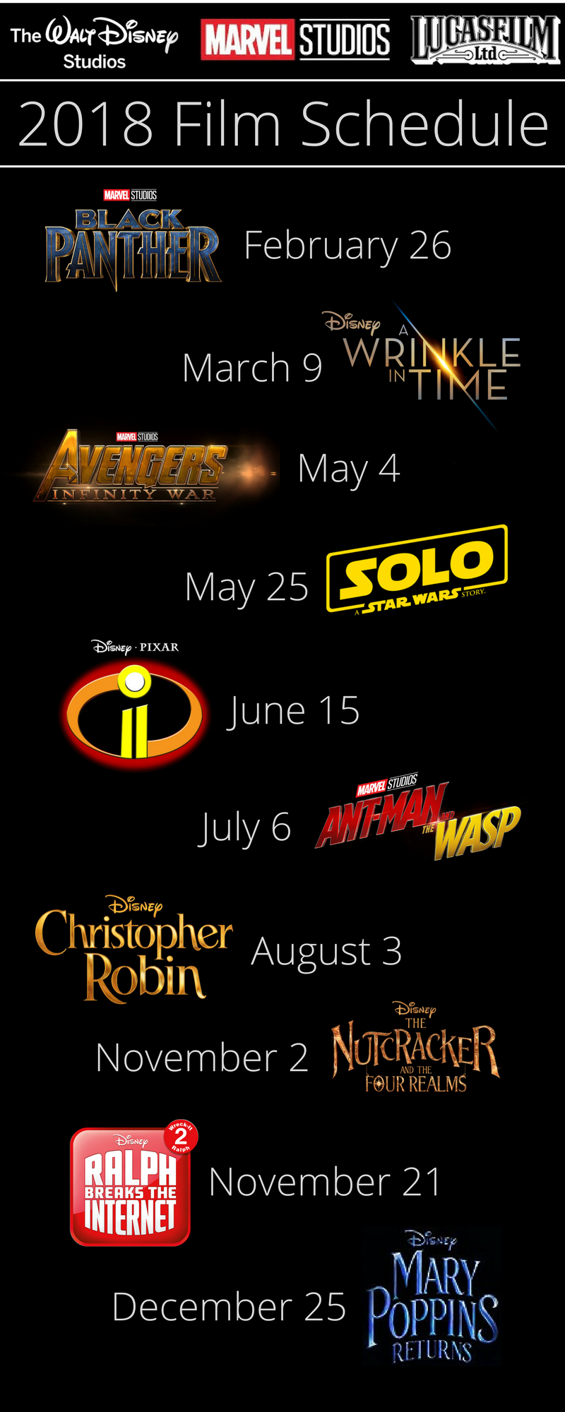 New disney movie release dates in Melbourne