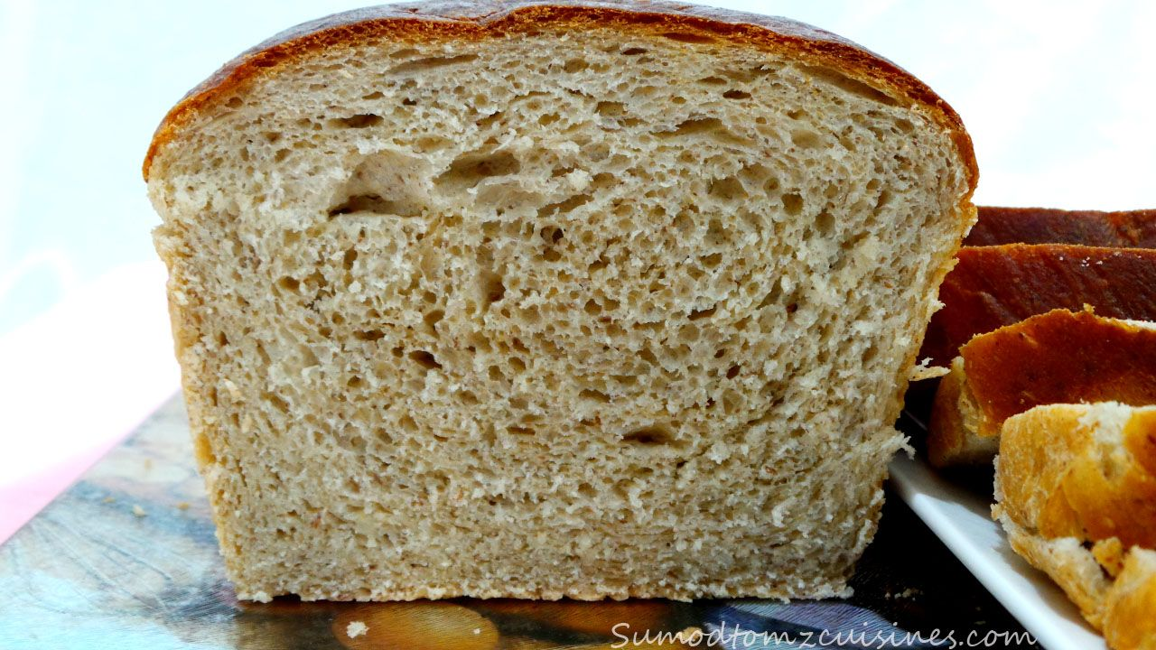 Whole wheat bread by sumod tom -hbg