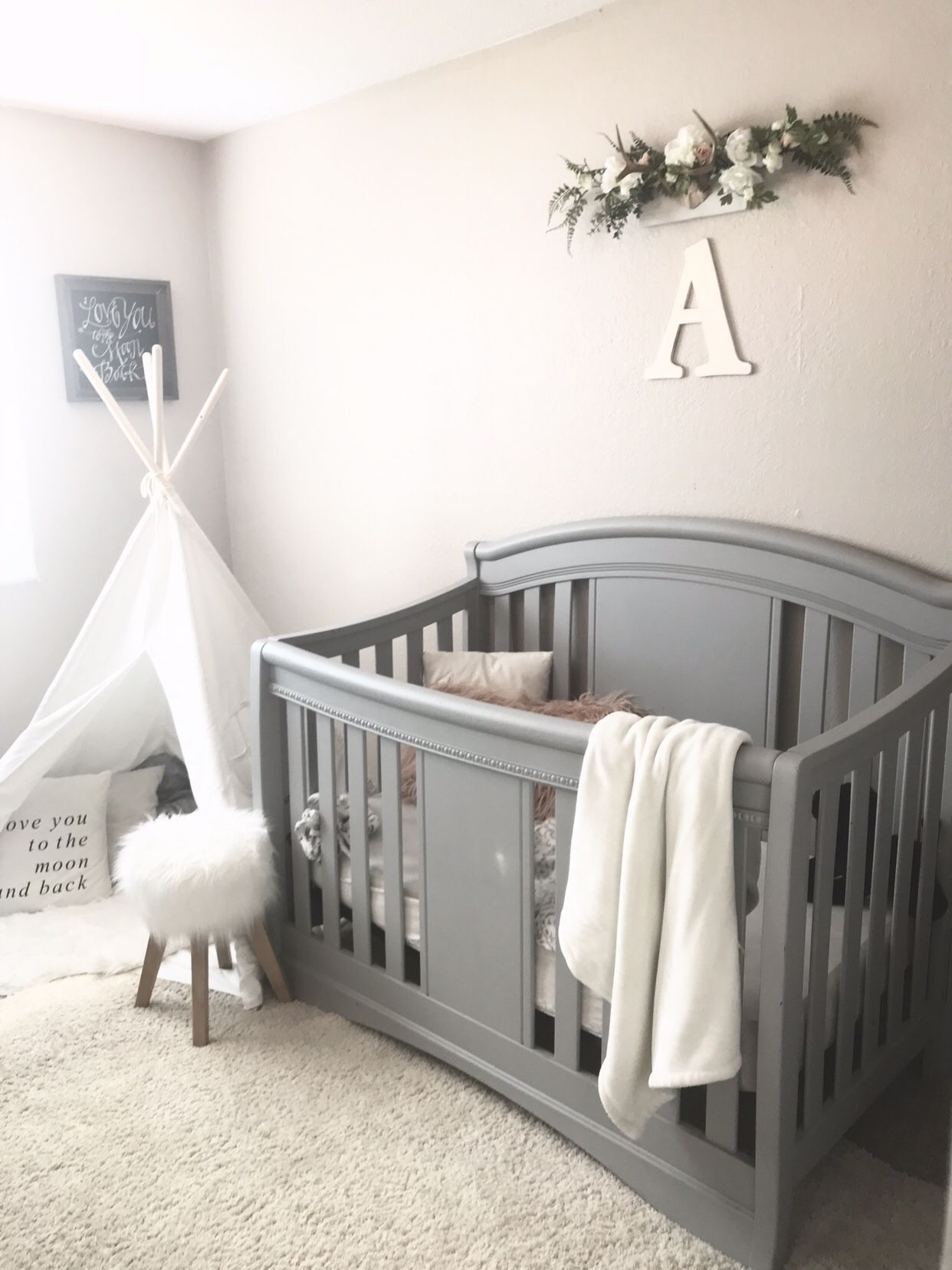 A Whimsy Baby Girl S Room Baby Girl Nursery Room Baby Girl