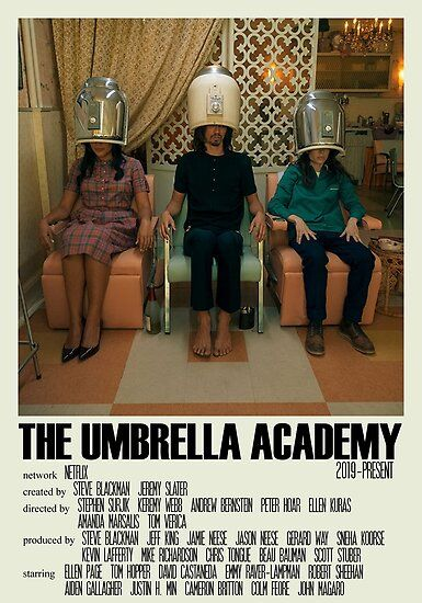 The Umbrella Academy Alternative Poster Art Tv Show Large (8) Poster by DesignsByElle