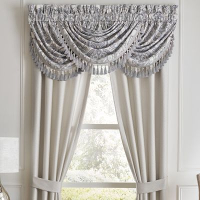 croscill seren waterfall swag valance in blue in 2018 products rh pinterest com