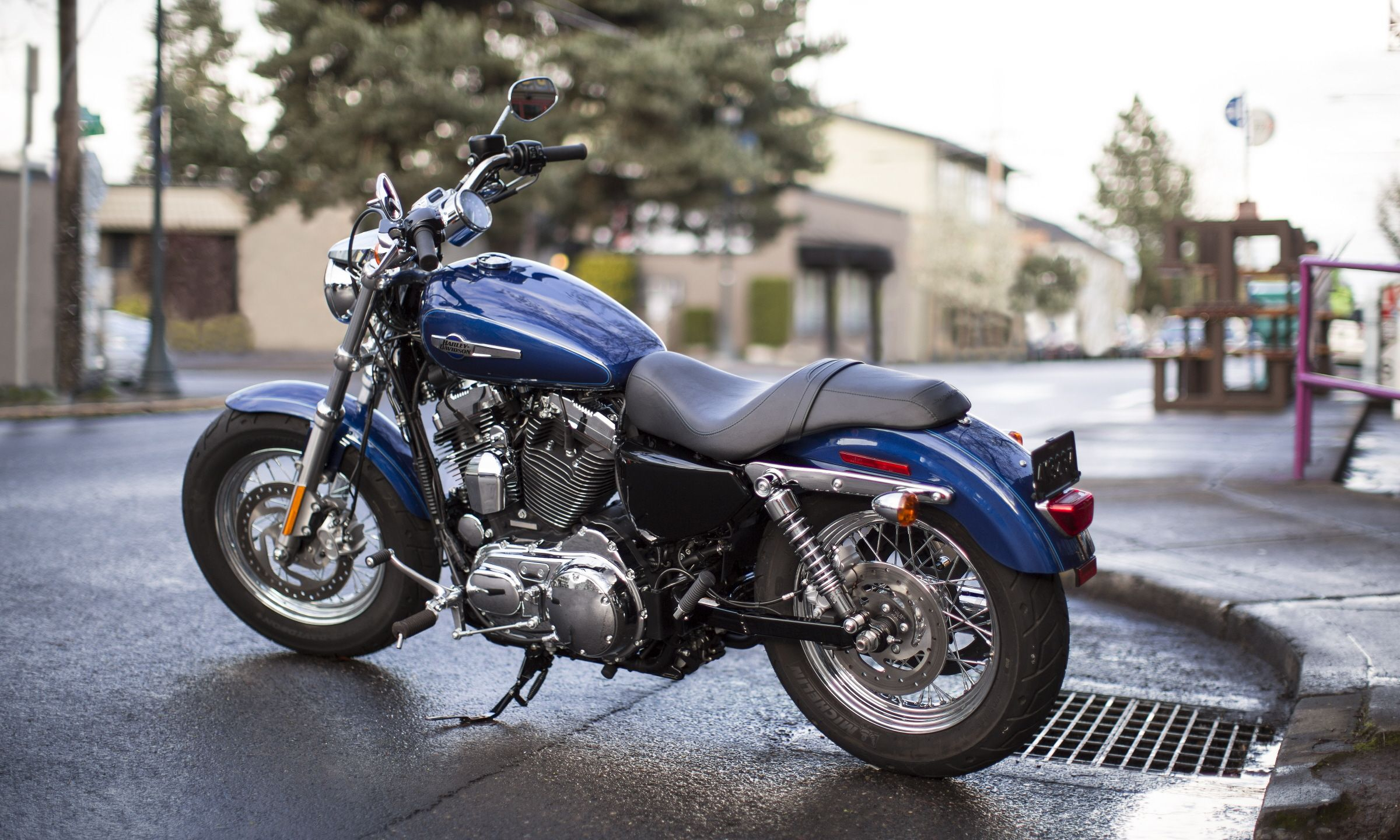 The ultimate wide-shouldered cruiser, featuring optional H-D1 ...