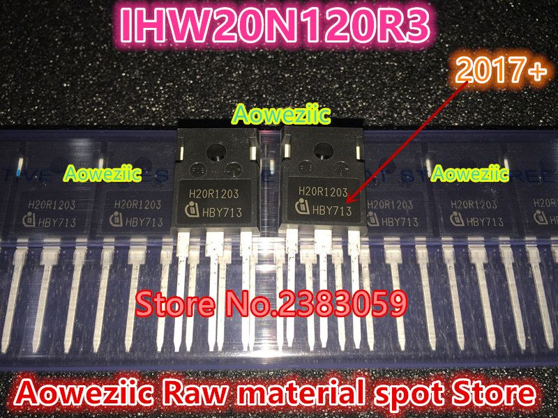 100% new imported original H20R1203 IHW20N120R3 TO-247 IGBT power