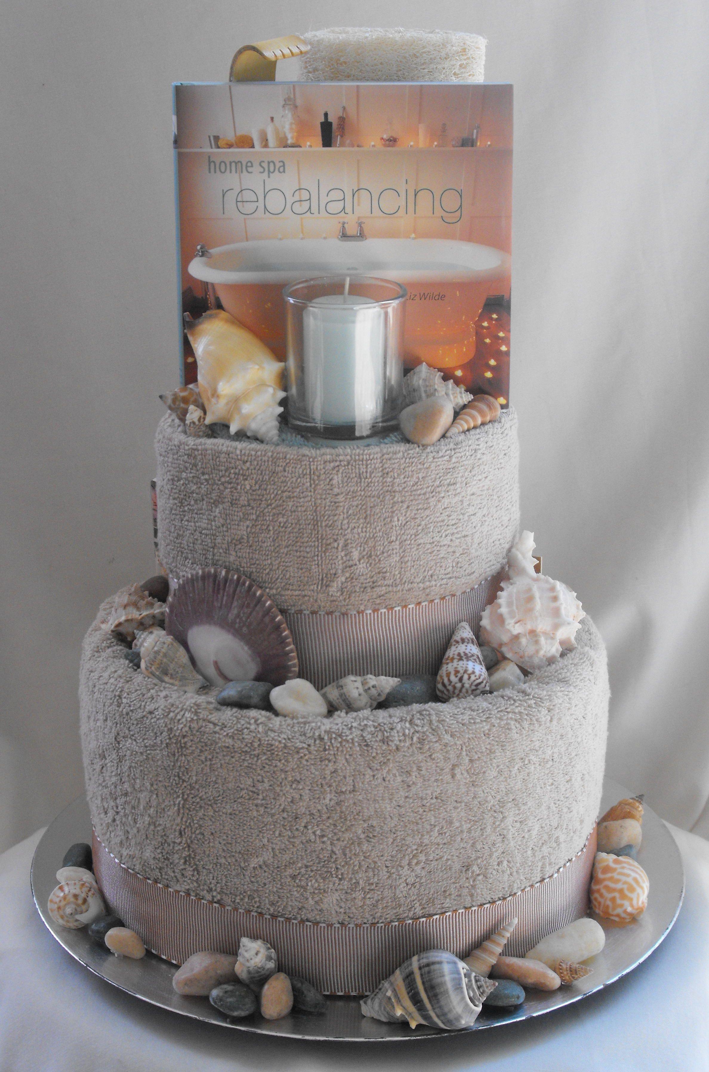 best homemade bridal shower gifts%0A Photo via  Spa CakeDiy Beauty Gift BasketUnique Gift Basket IdeasGift