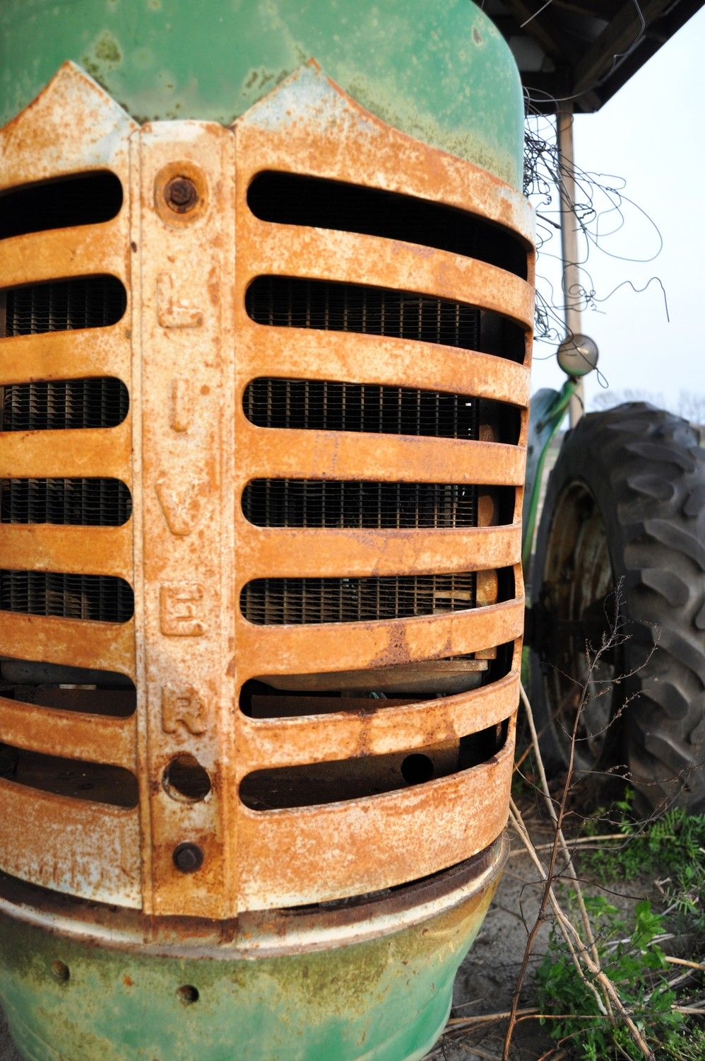 Oliver Tractor Fine Art Photograph 8 x