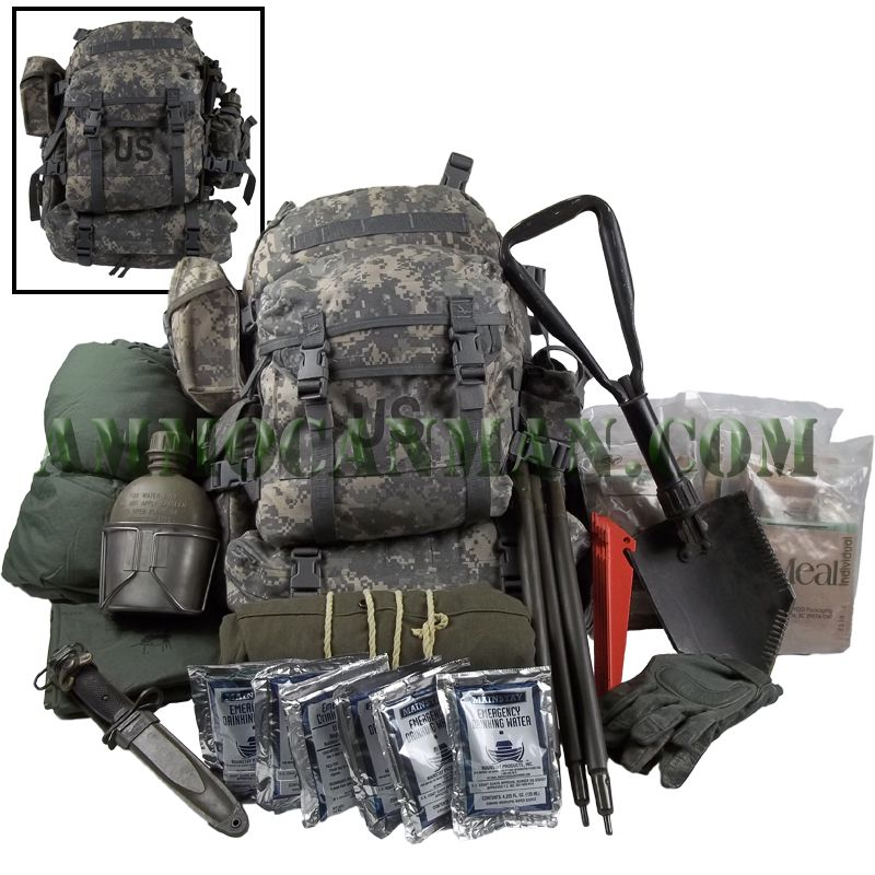 how to pack a backpack for camping diagram