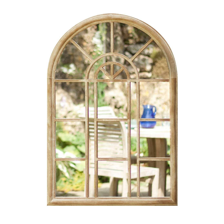 Rounded Arch Window Mirror In 2019 Kitchen Garden Mirrors Arch Mirror Mirror Wall Art