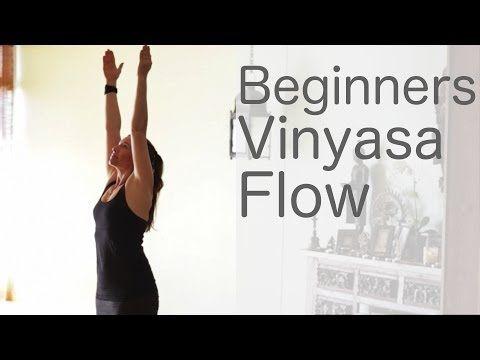 Yoga for Beginners Vinyasa Flow Free Yoga Class with Lesley Fightmaster - YouTube #yogaforbeginners #yogaisforeverybody