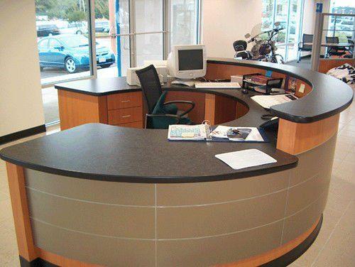 round reception desk dream house den study studio rh pinterest com
