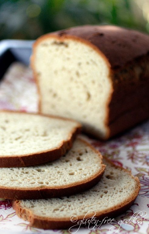 This bread is by far the best GF sandwitch bread recipe I've found. Both in taste and texture.